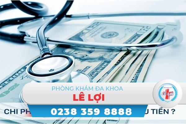 Chi phí chữa bệnh lậu bao nhiêu tiền?