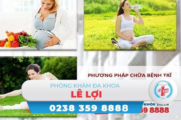 Phương pháp chữa bệnh trĩ khi mang thai