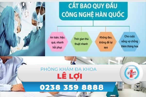 Địa chỉ hỗ trợ chữa viêm bao quy đầu hiệu quả tại Nghệ An